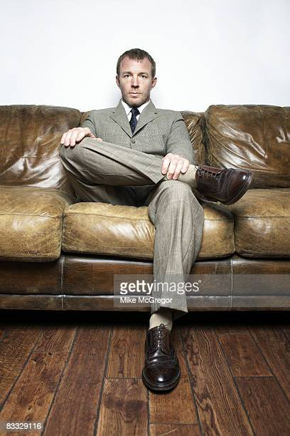 Director Guy Ritchie poses at a portrait session in New York City Published image