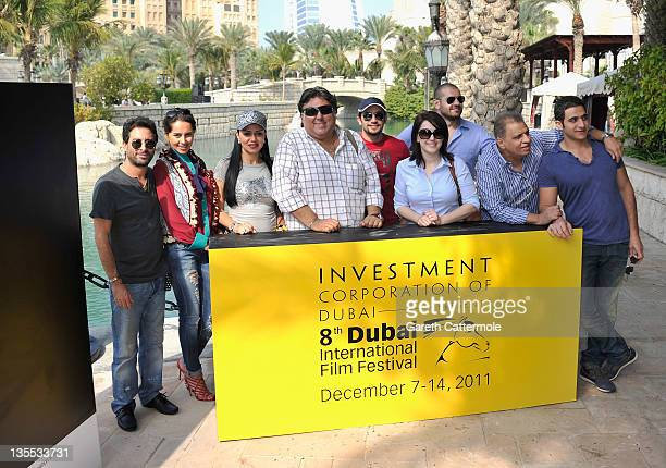 Director Hady el Bagoory actresses Yasmine Raees Rania Yucef scriptwriter Tamer Habeeb actor Hani Salama actress Kinda Alloush actor Amr Yucef and...