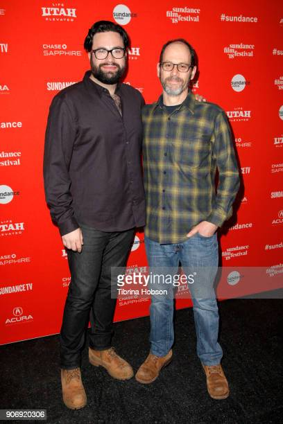 Director Haley and CoWriter Marc Basch attend the Volunteer Screening Of 'Hearts Beat Loud' Premiere during the 2018 Sundance Film Festival at Park...