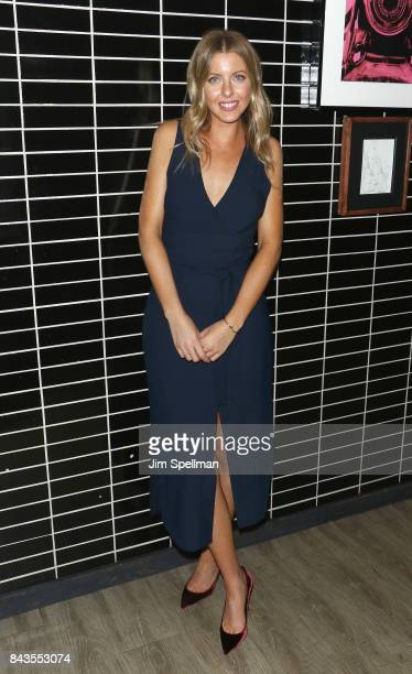 Director Hallie MeyersShyer attends the screening after party for Open Road Films' Home Again hosted by The Cinema Society with Elizabeth Arden and...