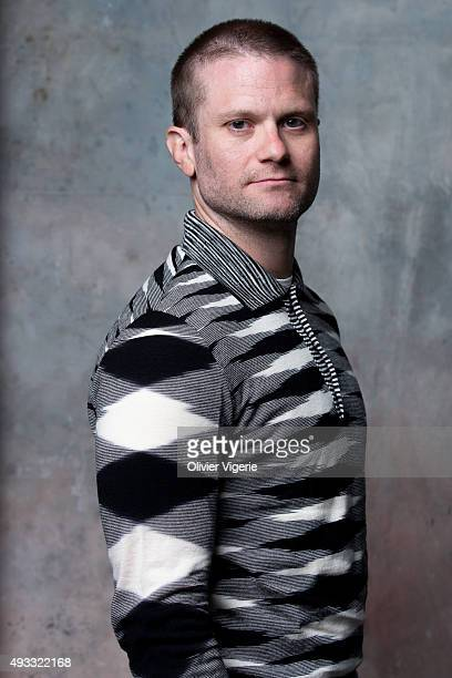 Director Hank Bedford is photographed on September 10 2015 in Deauville France