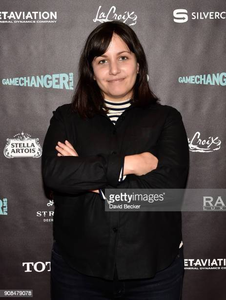 Director Hannah Fidell attends Gamechanger Films reception at the RAND Luxury Escape during the 2018 Sundance Film Festival at The St Regis Deer...
