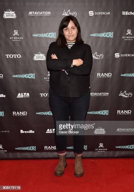 Director Hannah Fidell attends the Gamechanger Films reception at the RAND Luxury Escape during the 2018 Sundance Film Festival at The St Regis Deer...