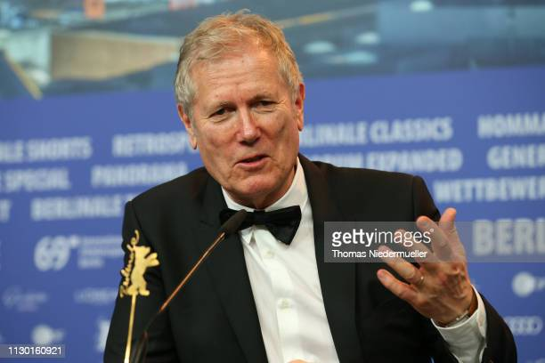 Director Hans Petter Moland attends the award winners press conference during the 69th Berlinale International Film Festival Berlin at Grand Hyatt...