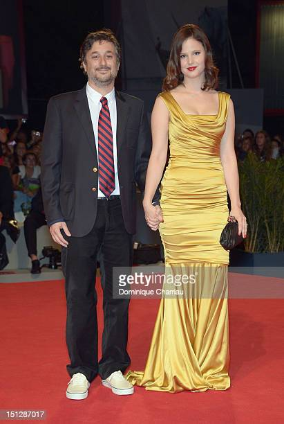 Director Harmony Korine and actress Rachel Korine attend Spring Breakers Premiere during The 69th Venice Film Festival at the Palazzo del Cinema on...