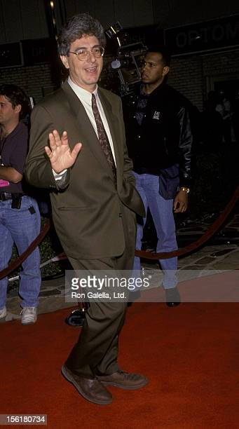 Director Harold Ramis attends the premiere of 'Groundhog Day' on February 4 1993 at Mann Village Theater in Westwood California