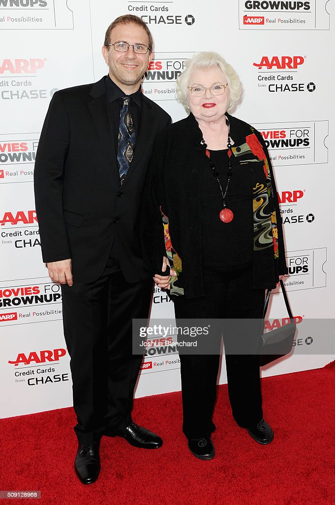 Director Harry Kakatsakis (L) and actress June squibb attend AARP's Movie For GrownUps Awards at the Beverly Wilshire Four Seasons Hotel on February 8, 2016 in Beverly Hills, California.