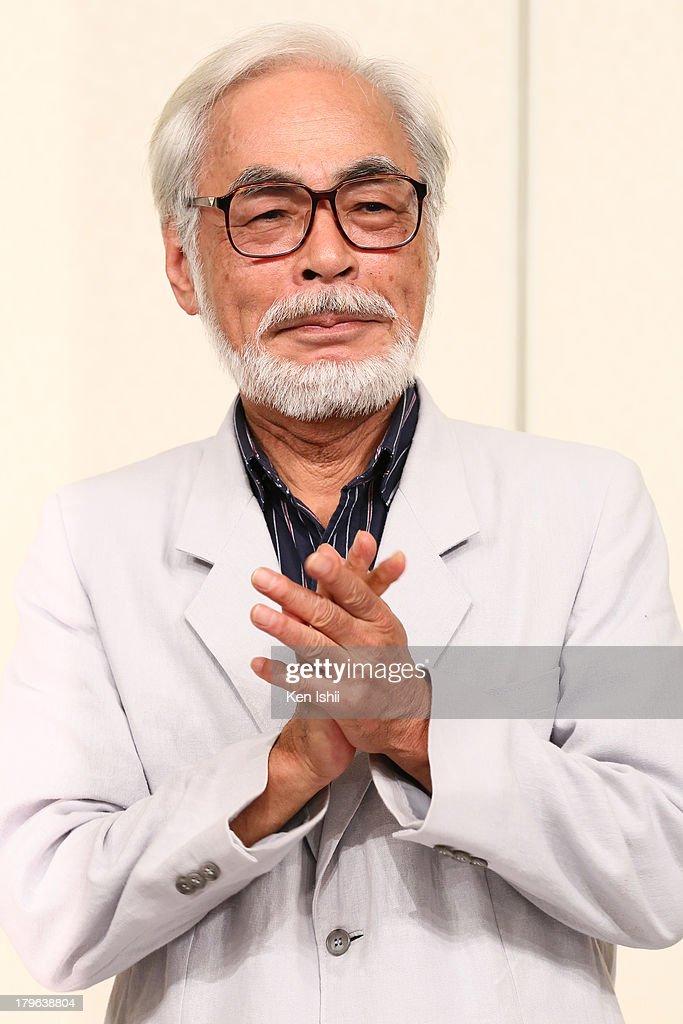 Hayao Miyazaki Retirement Press Conference