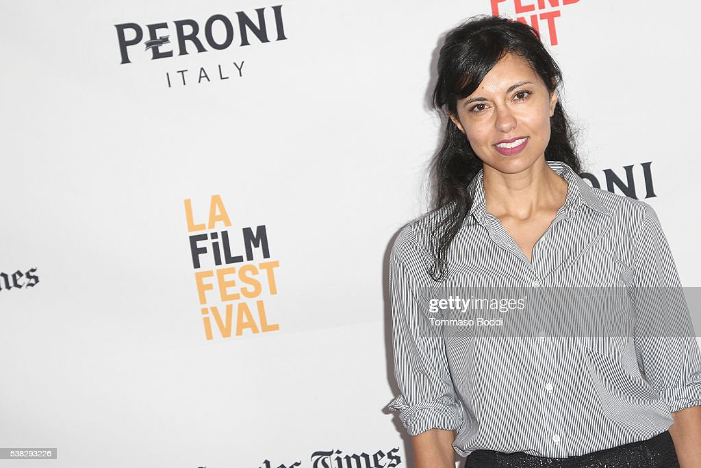 Director Heidi Saman attends the premiere of 'Namour' during the 2016 Los Angeles Film Festival at Arclight Cinemas Culver City on June 5, 2016 in Culver City, California.