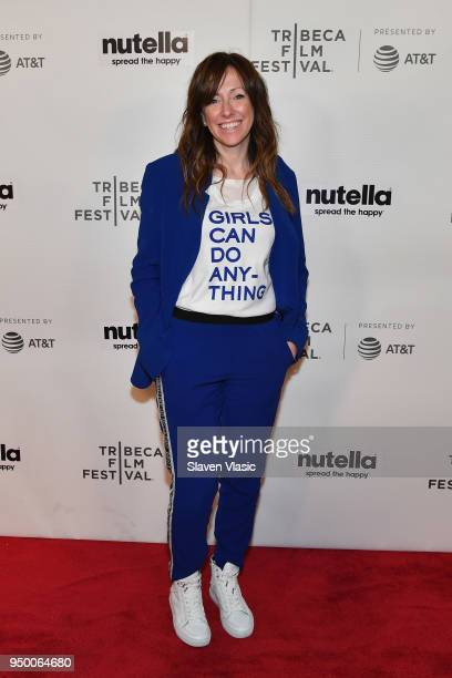 Director Helen O'Hanlon attends the Shorts Program Mirette during Tribeca Film Festival at Regal Battery Park 11 on April 22 2018 in New York City