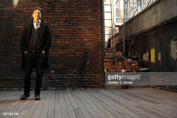 Director Henry Alex Rubin is photographed for Los Angeles Times on March 28 2013 in New York City