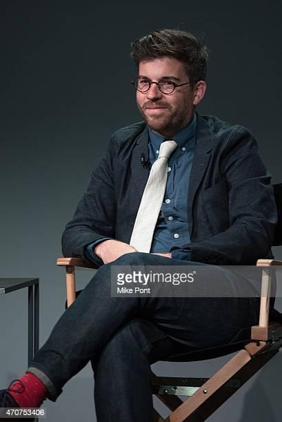 "Director Henry Hobson attends Apple Store Soho Presents Tribeca Film Festival: Henry Hobson and Arnold Schwarzenegger, ""Maggie"" at Apple Store Soho..."