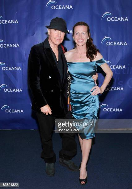 Director henry Jaglom and actor Tanna Frederick attend the 2009 Project Save Our Surf 1st Annual Surfathon and Oceana Awards at Shutters on the Beach...
