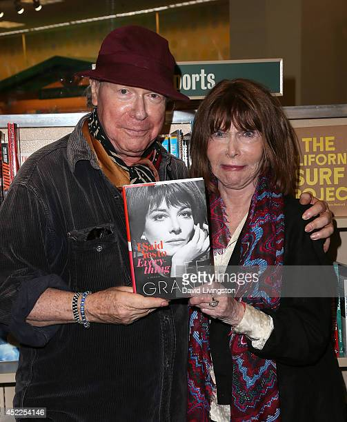 "Director Henry Jaglom and actress Lee Grant attend a signing for Grant's new book ""I Said Yes to Everything"" at Barnes & Noble bookstore at The Grove..."