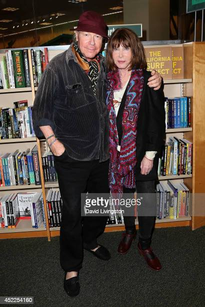 Director Henry Jaglom and actress Lee Grant attend a signing for Grant's new book I Said Yes to Everything at Barnes Noble bookstore at The Grove on...