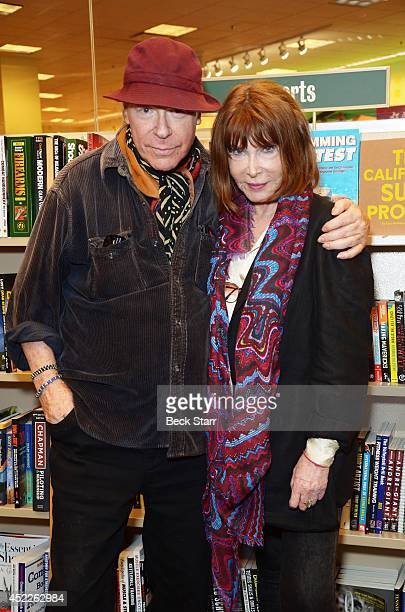Director Henry Jaglom and actress Lee Grant attend Lee Grant's book signing of her new book I Said Yes To Everything at Barnes Noble bookstore at The...