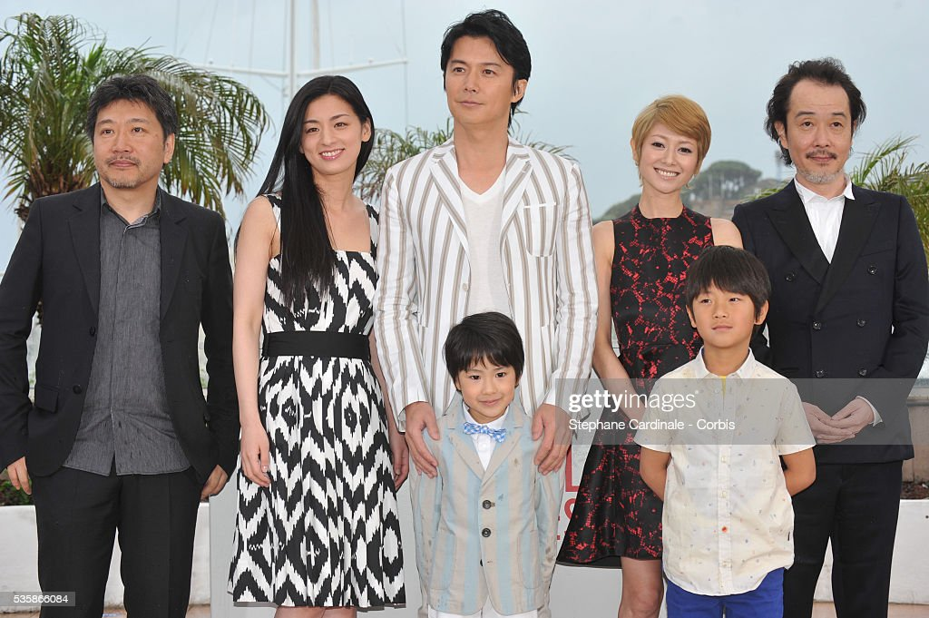 France - 'Soshite Chichi Ni Naru' Photocall - 66th Cannes International Film Festival : ニュース写真