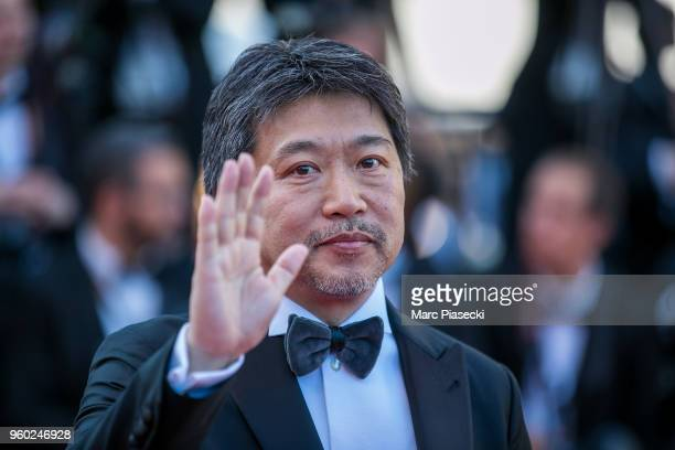 Director Hirokazu Koreeda attends the Closing Ceremony screening of 'The Man Who Killed Don Quixote' during the 71st annual Cannes Film Festival at...