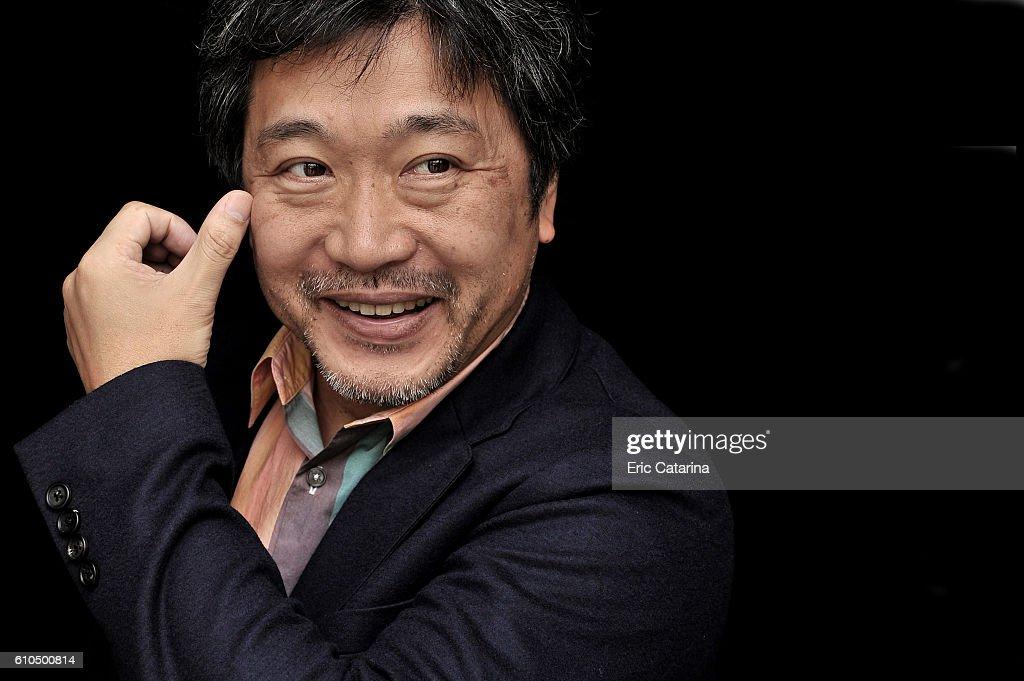 Director Hirokazu Kore-Eda is photographed for Self Assignment on September 23 2016 in San Sebastian, Spain.