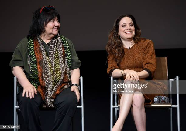 Director Holly Dale and actress Caroline Dhavernas attend Lifetime's Emmy FYC Event at Wolf Theatre on May 16 2017 in North Hollywood California