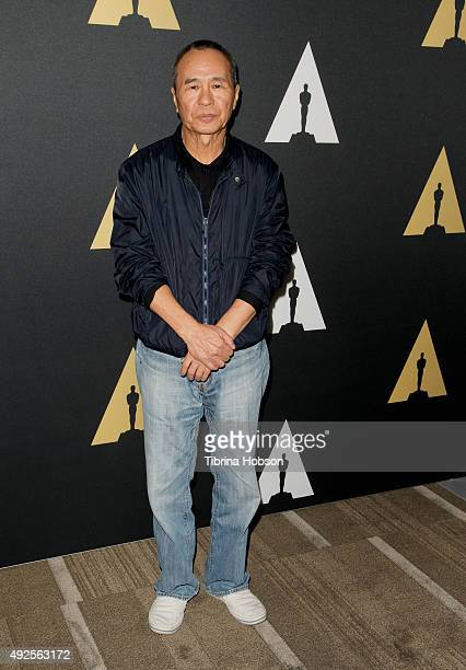 Director Hou HsiaoHsien attends Passing Beauty A conversation with Hou HsiaoHsien presented by the Academy Museum of Motion Pictures and The Getty...