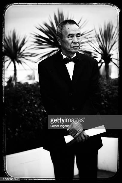 Director Hou Hsiaohsien is photographed on May 15 2015 in Cannes France