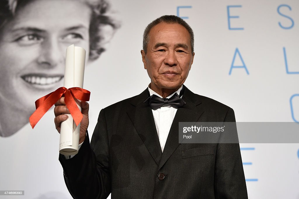 Director Hou Hsiao-Hsien, winner of the Best Director Prize for his film 'Nie Yinniang' (The Assassin), attends the Palm D'Or Winners press conference during the 68th annual Cannes Film Festival on May 24, 2015 in Cannes, France.