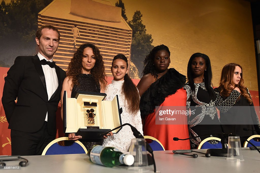 Palme D'Or Winner Press Conference - The 69th Annual Cannes Film Festival : News Photo