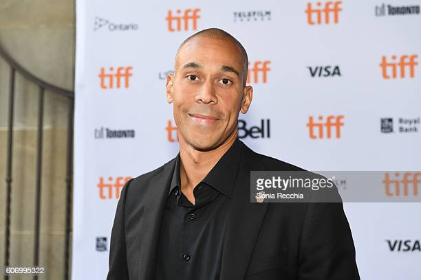 Director Hubert Davis attends the 'Giants of Africa' premiere during the 2016 Toronto International Film Festival at Ryerson Theatre on September 16...