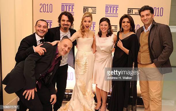 Director Ibrahim El Batout Doha Tribeca Film Festival coprogrammer Chadi Zeneddine Scandar Copti Director of the Doha Tribeca Film Festival Amanda...
