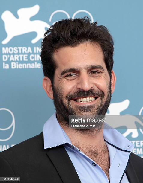 Director Idan Hubel attends theThe Cutoff Man Photocall during the 69th Venice Film Festival at the Palazzo del Casino on September 4 2012 in Venice...