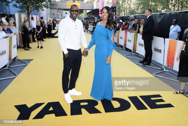 Jumayn Hunter attends the UK premiere of 'Yardie' at BFI Southbank on August 21 2018 in London England