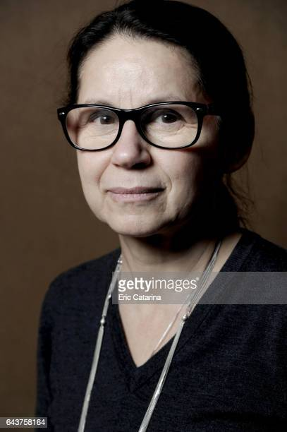 Director Ildiko Enyedi is photographed for Self Assignment on February 14 2017 in Berlin Germany