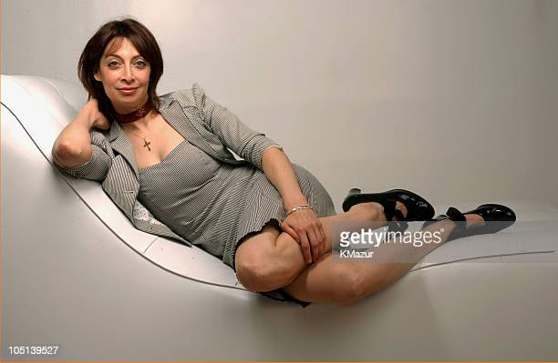 Director Illeana Douglas during 2003 Tribeca Film Festival 'Devil Talk' Portraits at WireImage Portrait Studio Michael Perez Pop Art Gallery in New...
