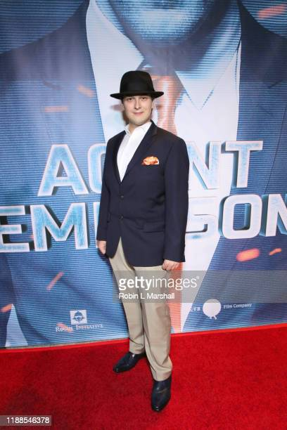 Director Ilya Rozhkov attends the Premiere of Agent Emerson at iPic Theater on November 18 2019 in Los Angeles California