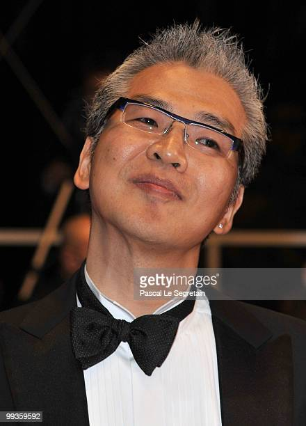 Director Im SangSoo attends 'The Housemaid' Premiere at the Palais des Festivals during the 63rd Annual Cannes Film Festival on May 14 2010 in Cannes...