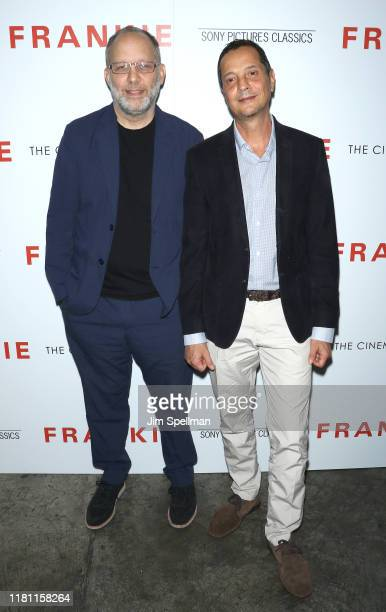 """Director Ira Sachs and co-writer Mauricio Zacharias attend the special screening of """"Frankie"""" hosted by Sony Pictures Classics and The Cinema Society..."""