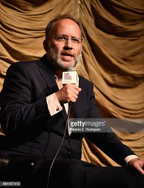Director Ira Sachs attends Film Independent at LACMA's Special Screening and QA of Little Men at The Bing Theatre At LACMA on July 28 2016 in Los...
