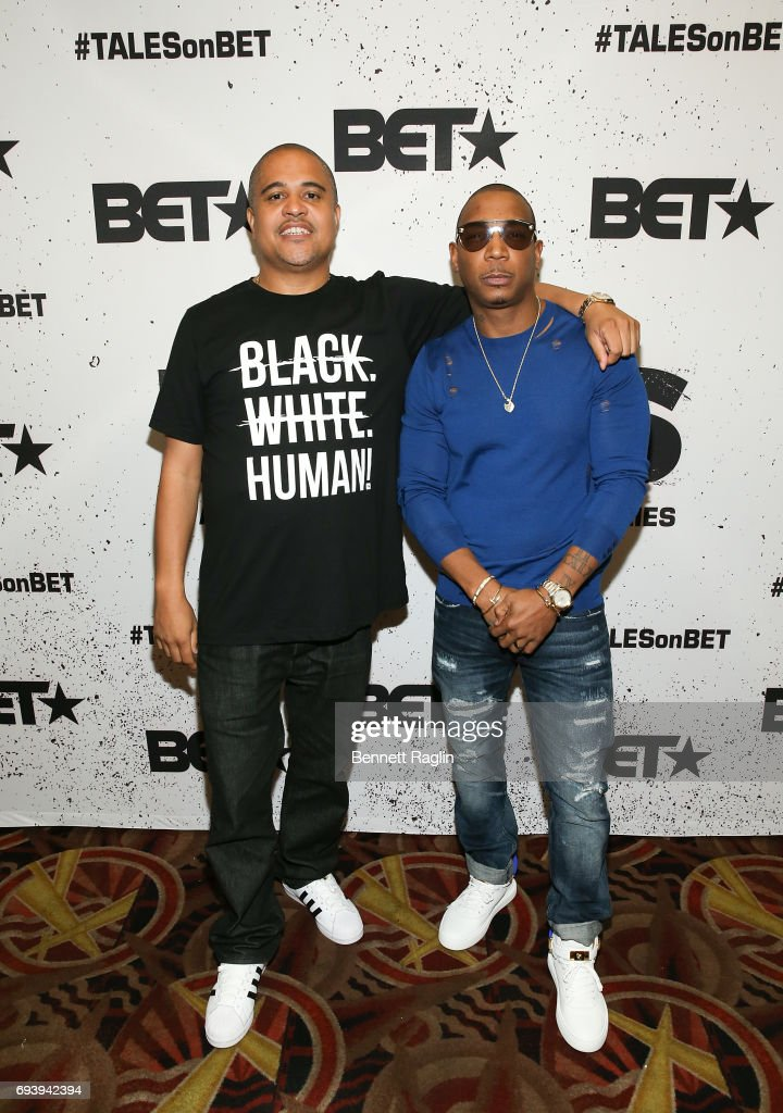 Director Irv Gotti and recording artist Ja Rule attend the screening of BET Series 'Tales' at AMC 34th Street on June 8, 2017 in New York City.