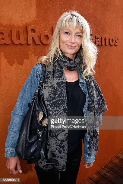 Director Isabelle Camus attends Day Nine of the 2016 French Tennis Open at Roland Garros on May 30 2016 in Paris France