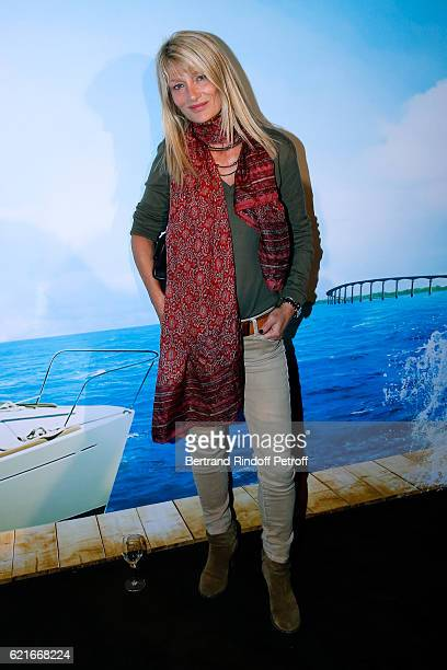Director Isabelle Camus attends the Ma famille t'adore deja' Paris Premiere at Cinema Elysee Biarritz on November 7 2016 in Paris France
