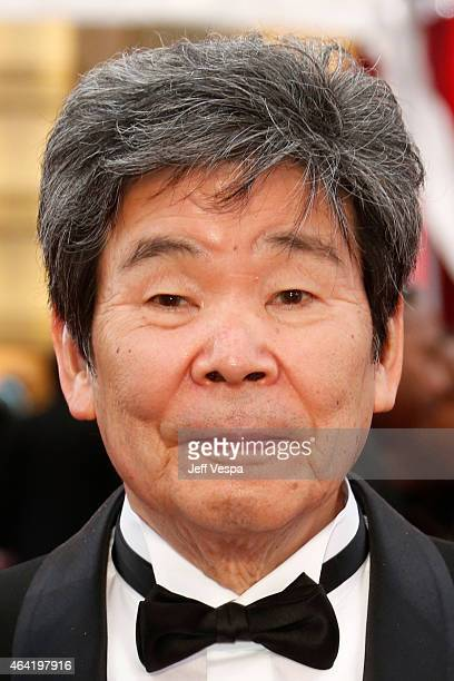 Director Isao Takahata attends the 87th Annual Academy Awards at Hollywood & Highland Center on February 22, 2015 in Hollywood, California.