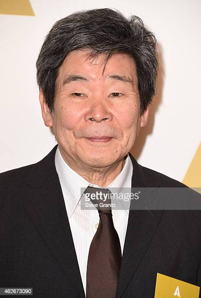 Director Isao Takahata attends the 87th Annual Academy Awards Nominee Luncheon at The Beverly Hilton Hotel on February 2, 2015 in Beverly Hills,...