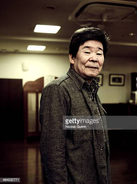 Director Isao Takahata is photographed for Self Assignment on November 7, 2010 in Cannes, France.