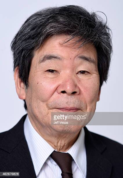 Director Isao Takahata poses for a portrait during the 87th Academy Awards Nominee Luncheon at The Beverly Hilton Hotel on February 2, 2015 in Los...