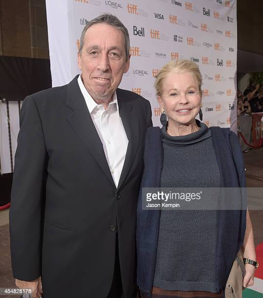Director Ivan Reitman and Geneviève Robert attend the Gala Screening of Paramount Pictures' MEN WOMEN CHILDREN during the 2014 Toronto International...