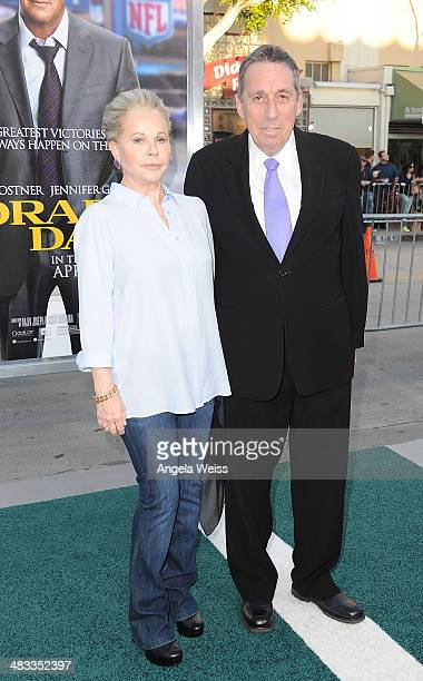 Director Ivan Reitman and wife Genevive Robert attend the premiere of Summit Entertainment's 'Draft Day' presented by Bud Light at the Regency Bruin...