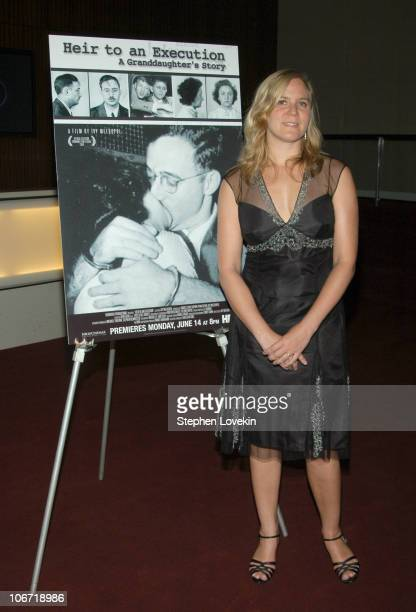 Director Ivy Meeropol during HBO Documentary Films Presents a Special Screening of Heir To An Execution A Granddaughter's Story at Time Warner Center...