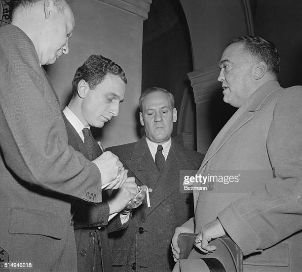 Director J. Edgar Hoover was reported to have told Senators today that Dr. Fuchs has confessed to giving Russia vital information on assembly of the...