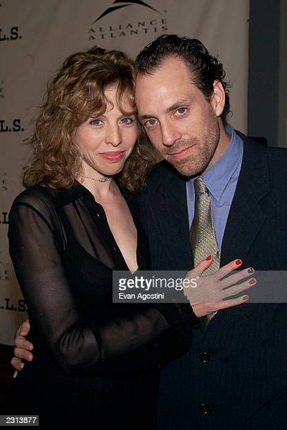 Director Jace Alexander with wife attend the Project ALS Gala Benefit and World Premiere of Jenifer at the Loews Astor Plaza in New York City Photo...